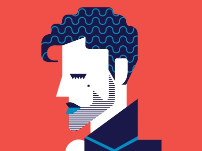 Prince prince artist formerly known as computer blue illustration minimal