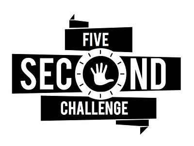 Five Second Challenge Logo logo logo design