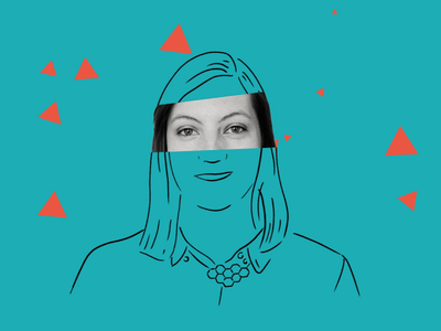 Meet the Team - Amy portrait gif gif animation motion graphics animation