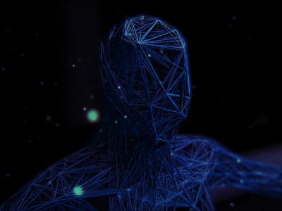 Geometry Man yorkshire leeds 3d animation studio 3d animation 3d art motion design motion graphics animation