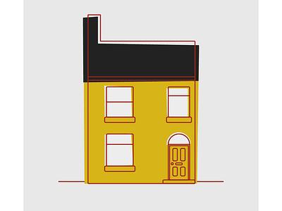 2D House illustration 2d animation motion graphics leeds illustration animation