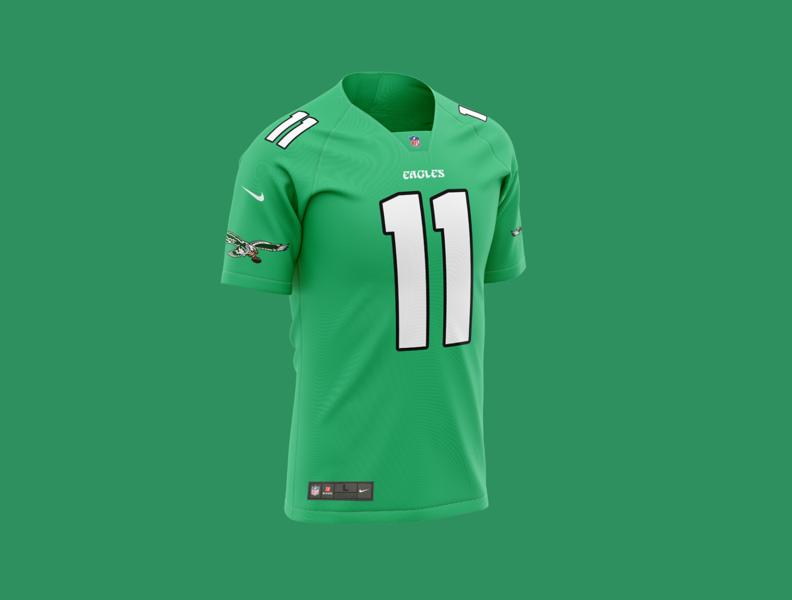 Philadelphia Eagles Concept Jersey 2020 nfc philadelphia eagles philly eagles fantasy football nflpa nfl100 nfl football espn nike