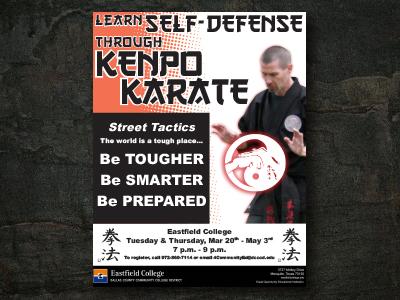 Kenpo Karate Flyer