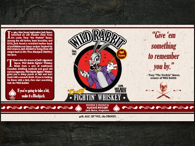 Wild Rabbit Fighting Whiskey