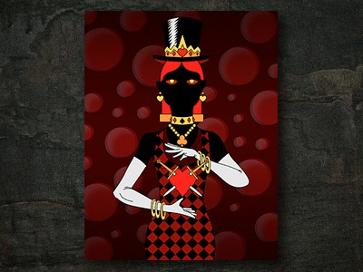 Women in Black #5 - Fortune graphic design photoshop vector traditional media illustrator illustration