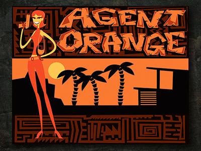 Agent Orange personal work vector illustrator