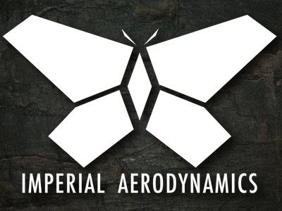 Imperialaerodynamicsdribbble logo design illustrator illustration vector