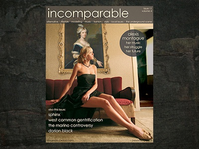 Typography - incomparable personal work indesign photoshop typography