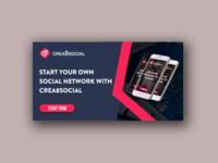 Facebook Ads for Crea8Social