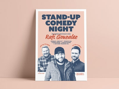 Stand-Up Comedy Night Poster
