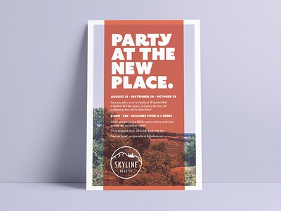 Party At The New Place Poster