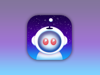 Apollo In Space (Better Version) design reddit ios apple appicon icon apollo