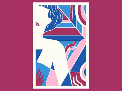 Strength design colour posca illustration color