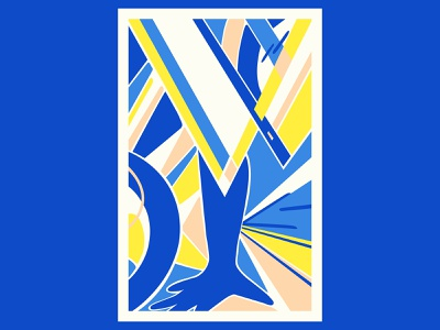 The Power art abstract design abstract art geometric art colour posca illustration design color