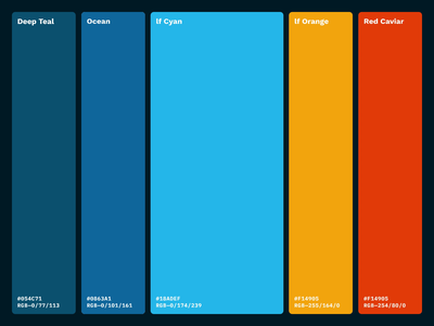 liquidfish / Color Updates web ux oklahoma city color branding motion graphics ui