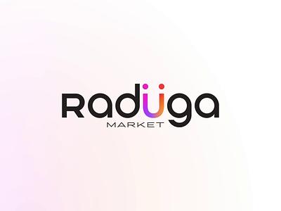 Raduga Market, MARKETPLACE platform ecommerce figma interface marketplace logo website ux ui animation design