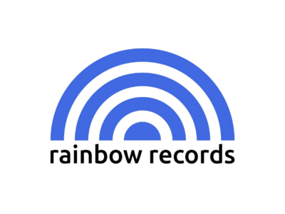 Rainbow Records Logo Concept