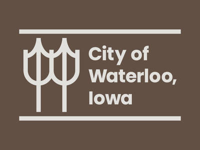 Concept logo for the City of Waterloo, Iowa