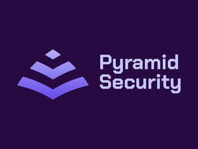 Concept logo for Pyramid Security