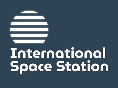 Concept logo for the International Space Station.