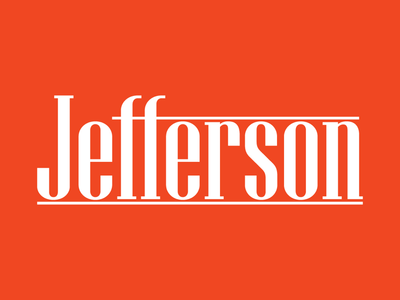 Concept logo mark for'Jefferson'.