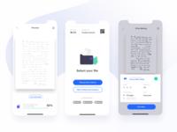 Printer App UI Design