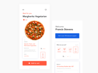 UI Challenge Pizza Delivery App