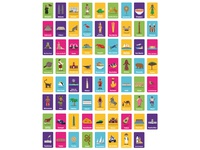 All the Illustrations for #PlayBig Card Game