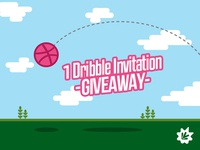 Dribbble Invitation Giveaway!