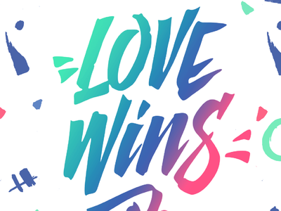 Free Font - Love Wins #freefont #lovewins rights love wins lover gaypride gay love