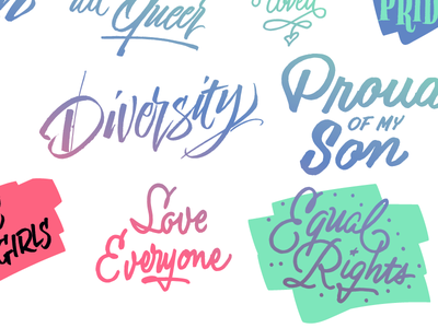Love Wins Free Font lovewins gaypride rights equal proud diversity