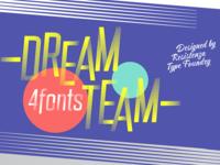 DreamTeam Font