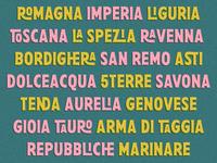 Pesto fresco - Places
