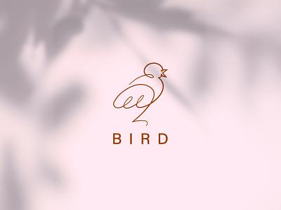 Bird logo logodesign logotype one line logo fashion elegant shadow bird icon bird logo line minimalism linear logo lineart one line bird simple logo