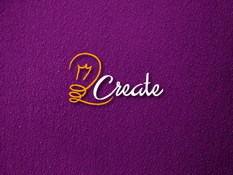 2create adobeillustrator lamp creative idea orange purple latergram logodesign logo