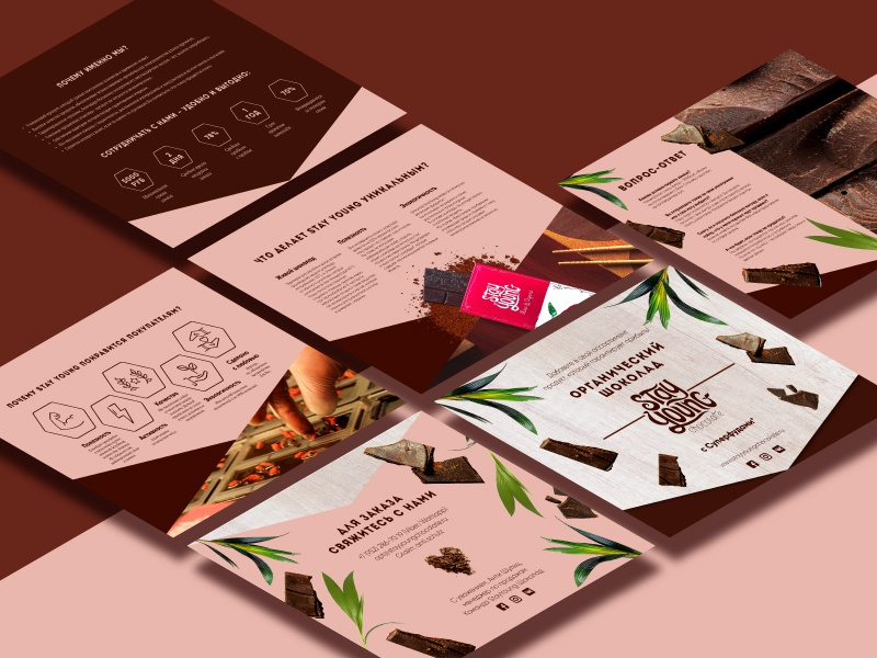 B2B presentation presentation latergram adobeillustrator isometric typographic icons pink chocolate rose