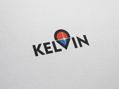 Kelvin kelvin weather paper typo logo window degrees cold warm temperature windows text logo logomaker logotype logo
