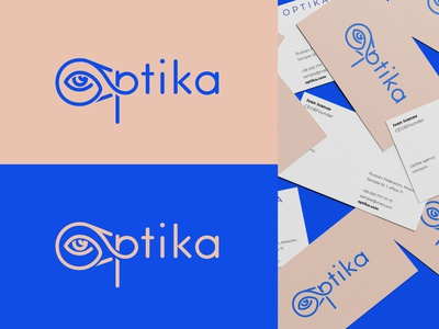 Logo for optika studio