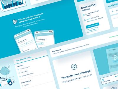 MoreHands: Components digital design illustration web uxdesign ux uidesign ui