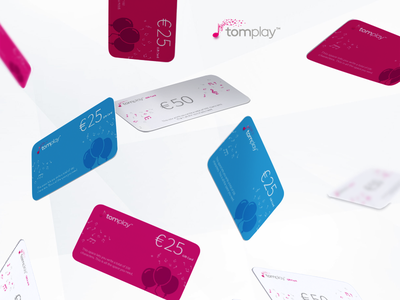 Tomplay - Gift Cards digital gift cards design