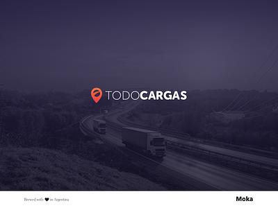 TodoCargas digital branding logo design