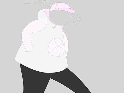 Walking illustration vector graphic  design design digital