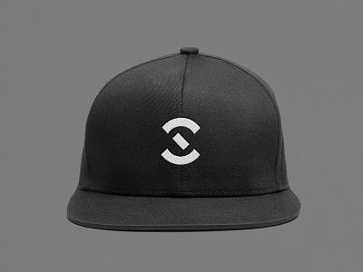 Spectra hat custom typography branded clothing clothing typography abstract geometric branding graphic design logo