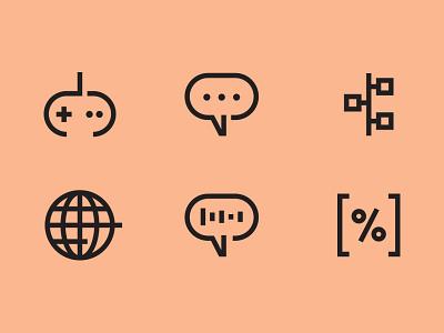 Spectra Icons vector minimal design geometric graphic design iconography icon