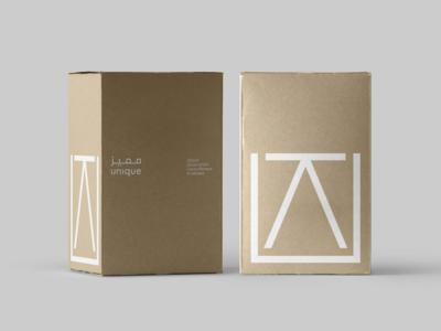 Unique Kitchen Packaging typography letter u u table brandmark minimal contemporary logo design logo branding packaging