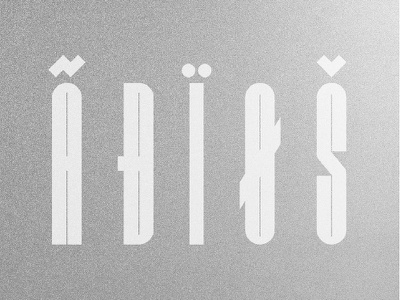 Burokku - Multi-lingual support free free font unique display type display geometric bold type typography logo bold typography typeface font