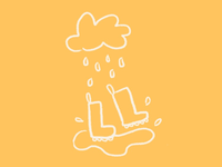 Dancing in The Rain Doodle