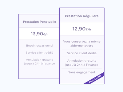 French pricing tiers
