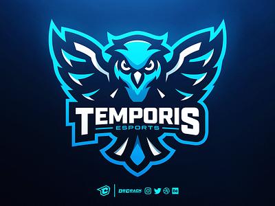 Owl Mascot Logo owl mascot logo mascot branding esport drcrack esports gaming logo brand