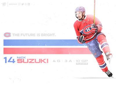Nick Suzuki Artwork montreal nhl hockey habs canadiens nick suzuki creative art